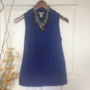 Banana Republic Royal Blue Knit Top